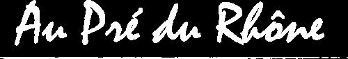 logo Au Pré du Rhône